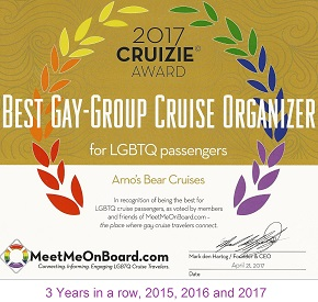 Best Gay-Group Cruise Organizer for LGBTQ passengers - Arno's Bear Cruises